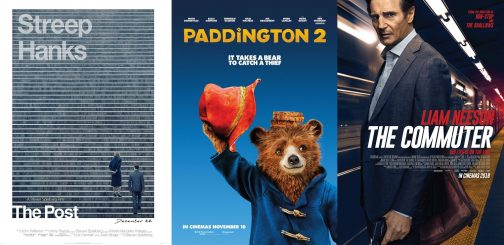 Luke Reviews 'The Post,' 'Paddington 2' and 'The Commuter'
