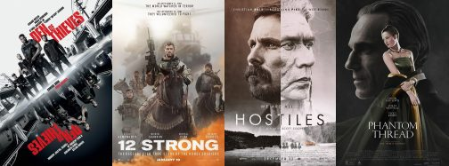Luke Reviews 'Hostiles,' 'Phantom Thread,' '12 Strong' and 'Den of Thieves'