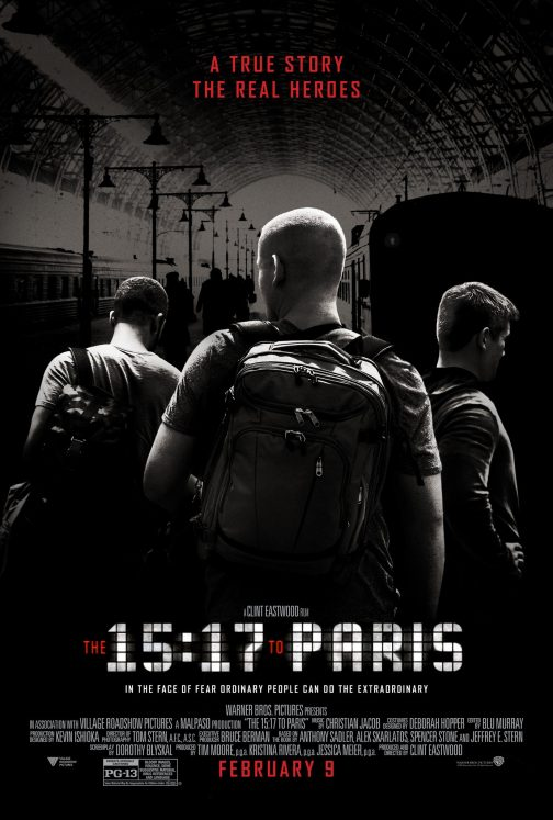 'The 15:17 to Paris' Free Passes