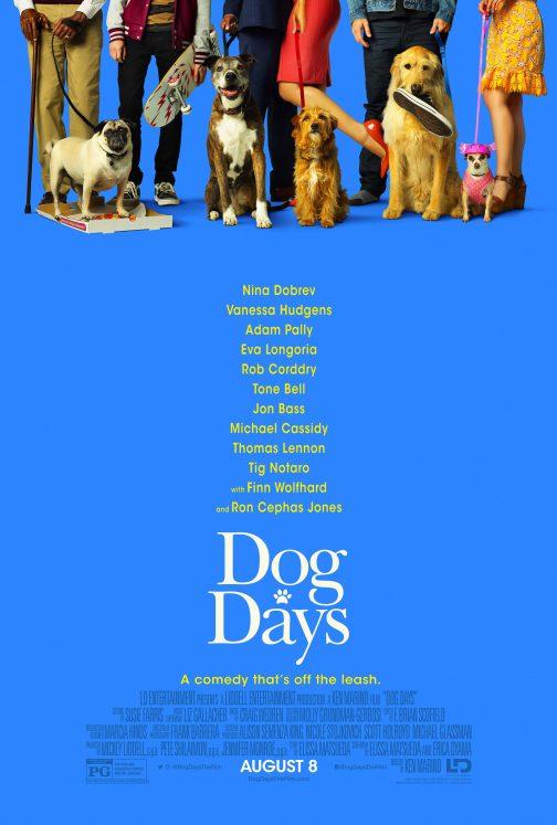 'Dog Days' Advance Screening Passes