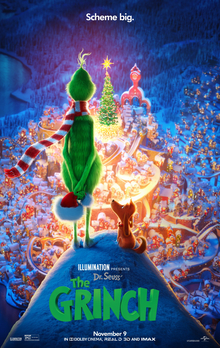 'Dr. Seuss' The Grinch' Advance Screening Passes