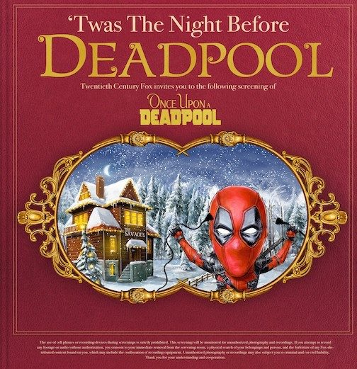 'Once Upon a Deadpool' Advance Screening Passes