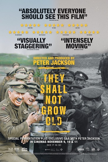 'They Shall Not Grow Old' Advance Screening Passes