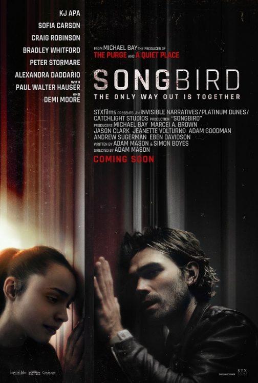 'Songbird' Virtual Advance Screening Passes