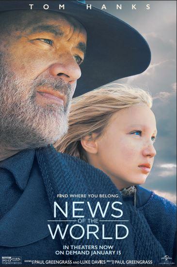 'News of the World' FandangoNOW Giveaway