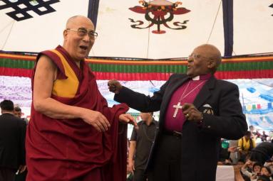 His Holiness the Dalai Lama, Archbishop Desmond Tutu, Tribeca At Home, Tribeca Festival