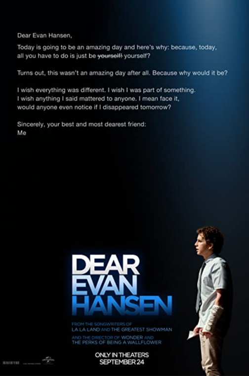 'Dear Evan Hansen' Advance Screening Passes