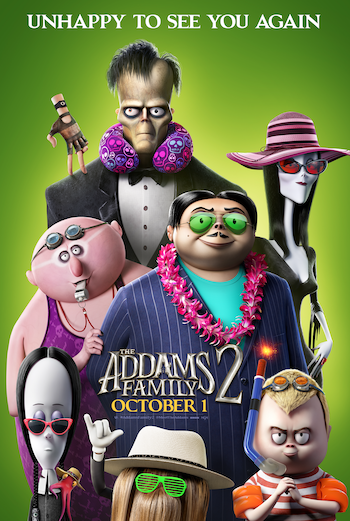 'The Addams Family 2' Movie Passes