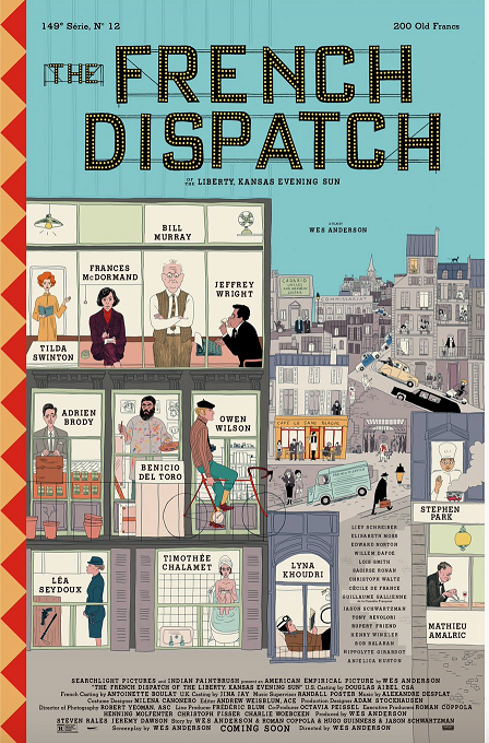 'The French Dispatch' Advance Screening Passes