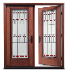 The astragal is attached to the latch or passive door allowing for a wider opening in double door applications. The astragal covers the margin between the ...  sc 1 st  Therma-Tru Doors & Therma-Tru Door Systems | Therma-Tru Doors