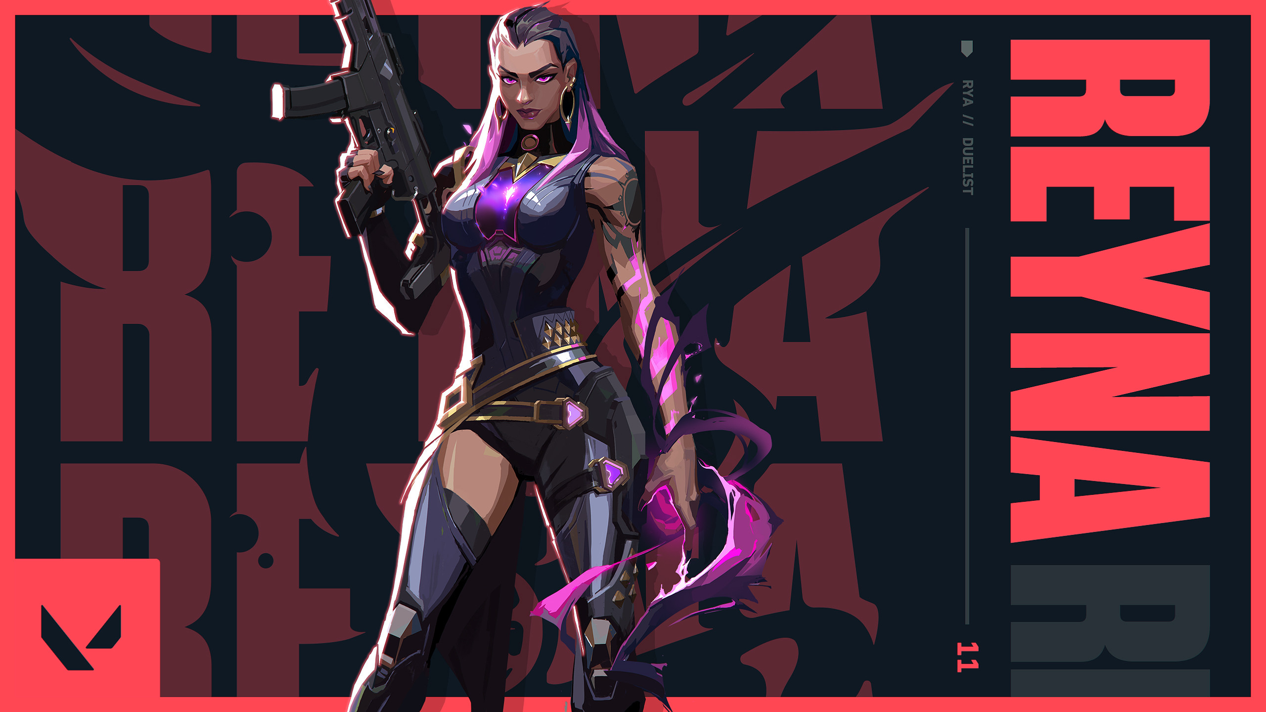 New Agent: Reyna / Riot Games