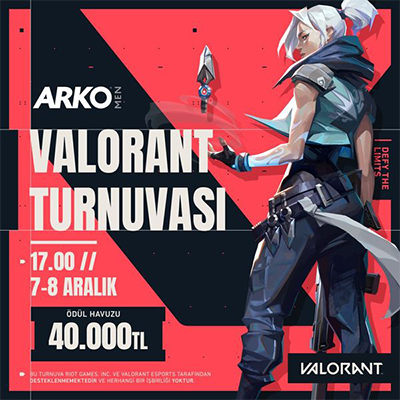 Arko Men Valorant Tournament