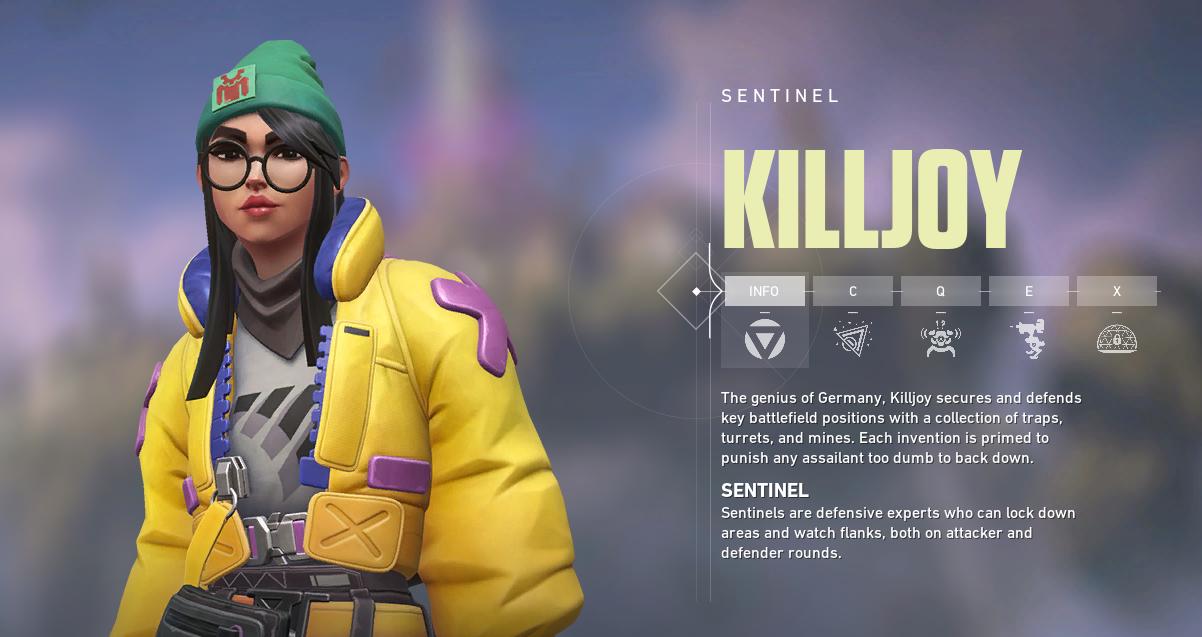Killjoy in VALORANT ©Riot Games