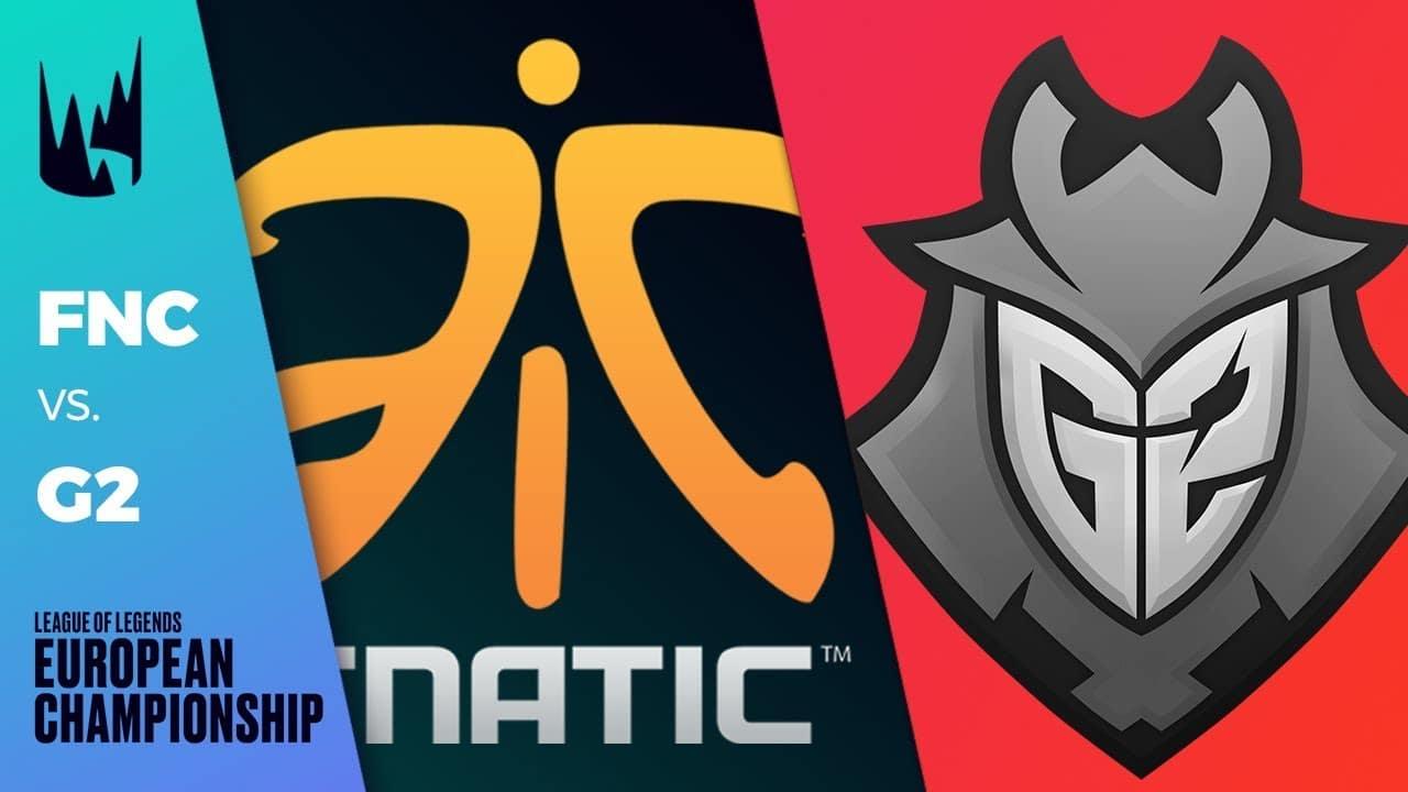FNATIC vs G2 Esports, © League of Legends European Championship