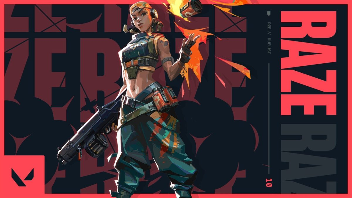 Raze, ©Riot Games