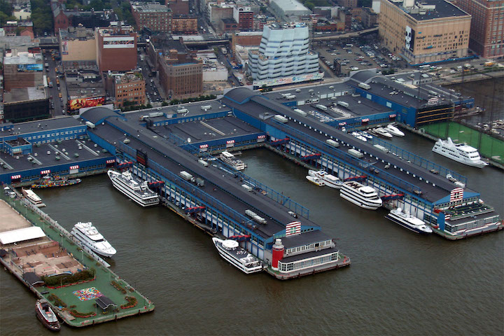 Chelsea Piers in Chelsea, NYC