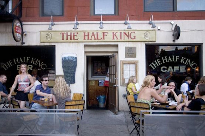 The Half King features one of the best happy hours in Chelsea