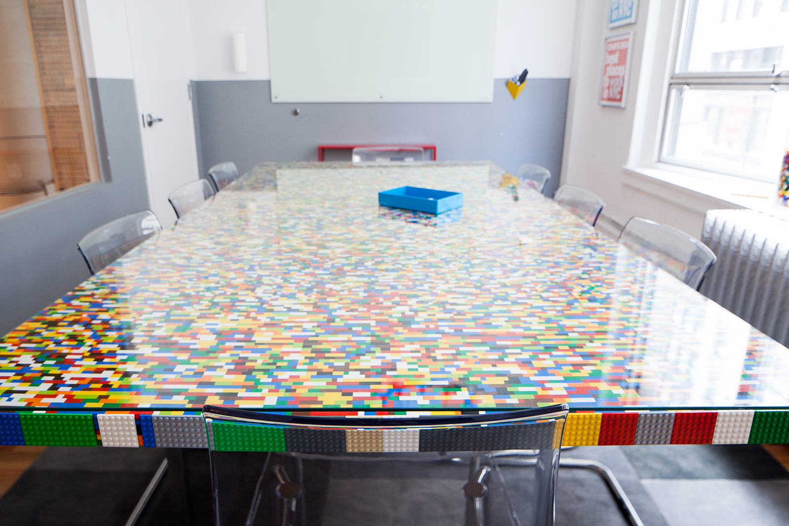 photo; Site Compli's Office Space Conference Table