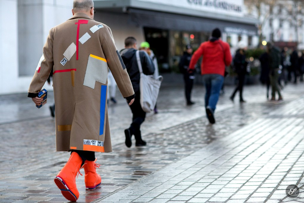 raf simons shoes street style men's fashion paris fashion week