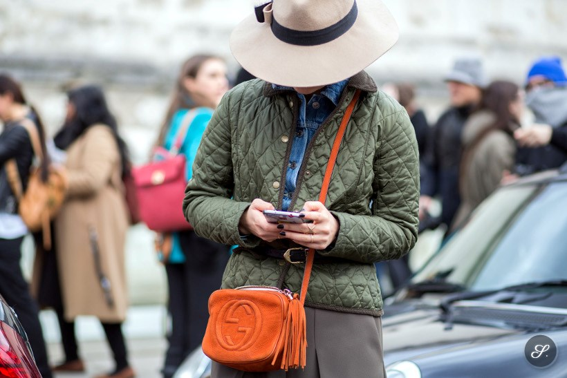 women street style photo london fashion week