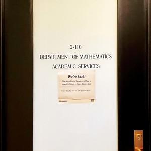 9629 math department door