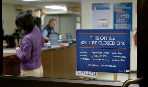 is the post office open on veterans day