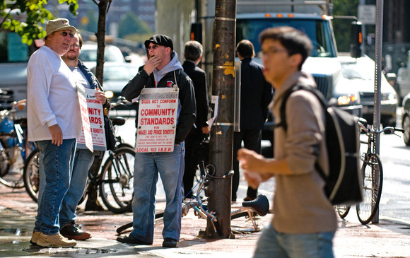 2377 picketers