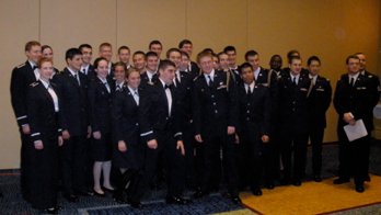 Student-cadets attend ROTC annual formal Military Ball | The