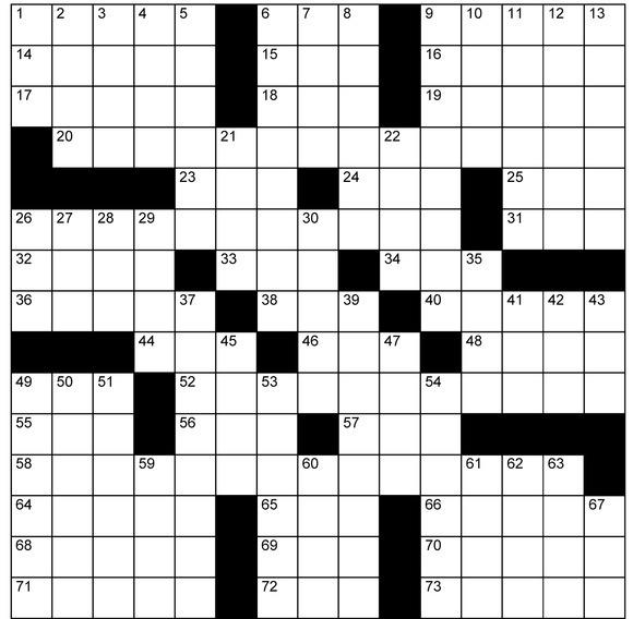 6466 crossword 1
