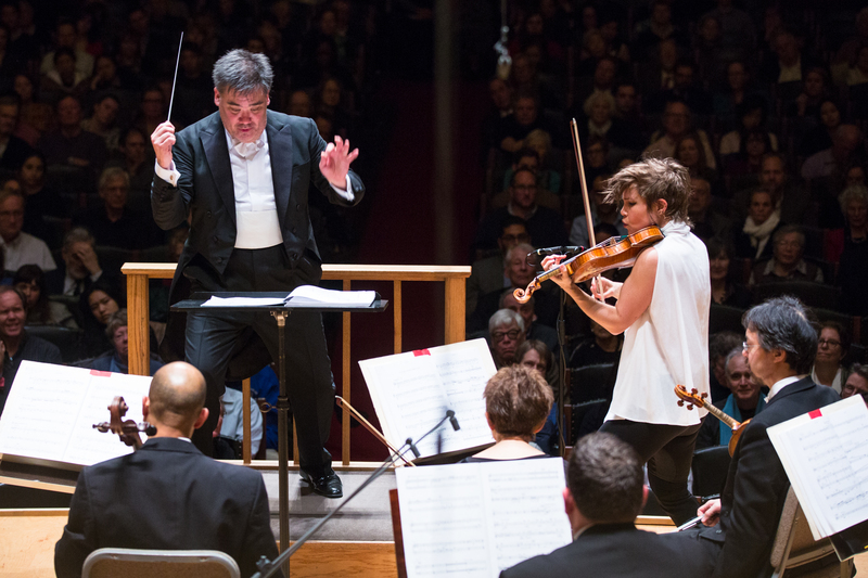 8490 alan gilbert leads the bso and violinist leila josefowicz at symphony hall 3.1.18  2  %28robert torres%29