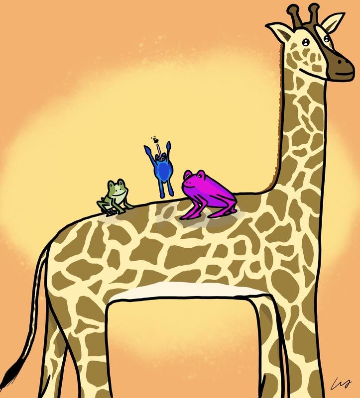 9461 giraffe frog