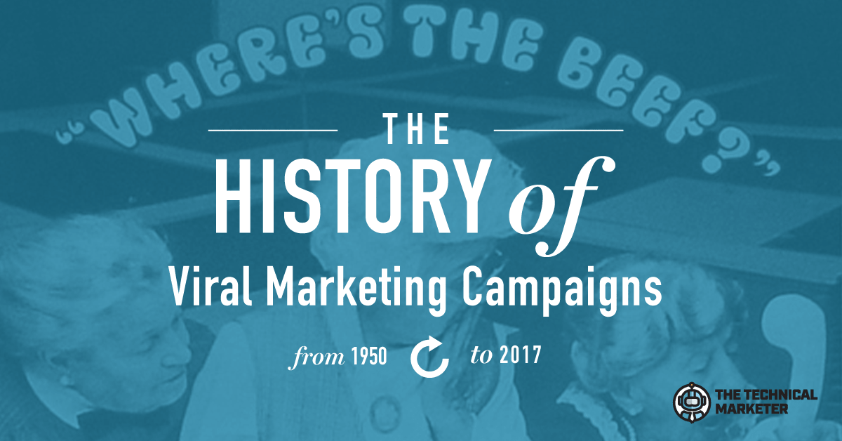 [The History Of Marketing] Viral Marketing Campaigns