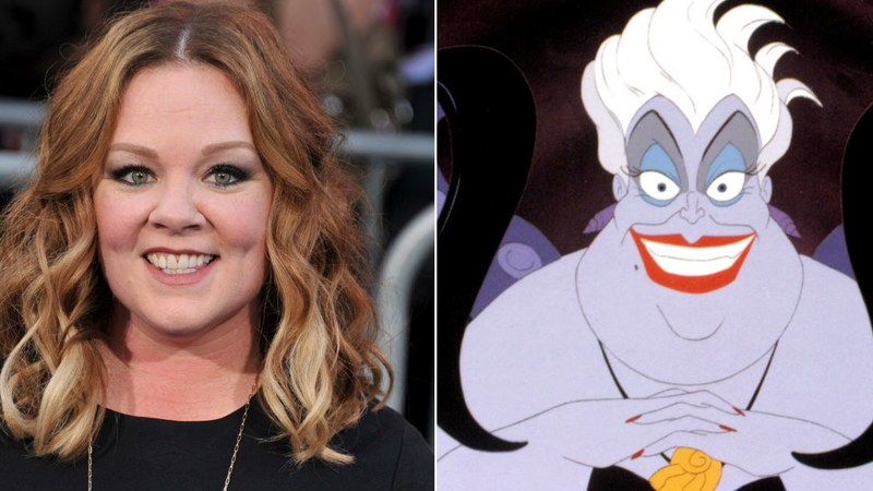 Melissa Mccarthy casted as Ursula in The Little Mermaid