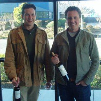 Vellum Wine Craft Winemaker Karl Lehman and Jeff Mathy
