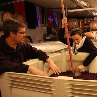 McCleskey Cellars Winemaker Jim Seufert & Marcus Goodfellow