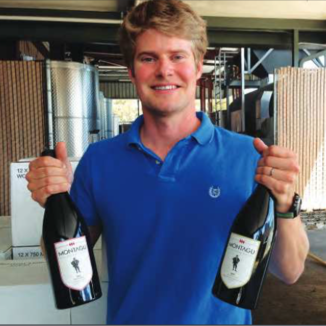 Montagu Winemaker Weston Eidson