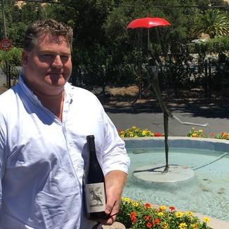 Orrin Sage Winemaker Justin Harmon