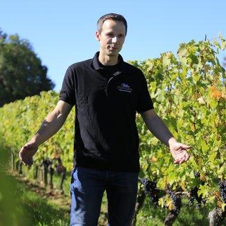 Château Peyfaures Winemaker Laurent Godeau