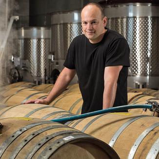 Wightman Cellars Winemaker Justin Harmon