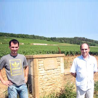 Domaine Marius Delarche Winemaker Etienne Delarche