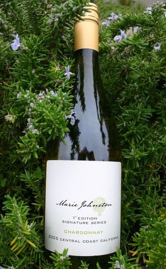 Marie Johnston Wines 2005 1st Edition Signature Series 750ml Wine Bottle