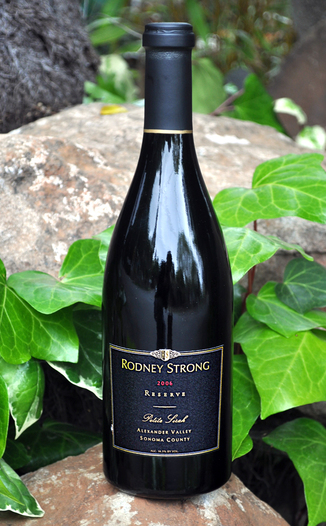 Rodney Strong Vineyards 2006 Alexander Valley Reserve Petite Sirah 750ml Wine Bottle