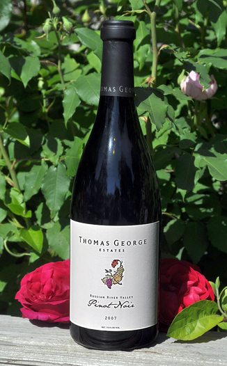 Thomas George Estates 2007 Russian River Valley Pinot Noir 750ml Wine Bottle