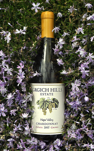 Grgich Hills Estate 2007 Napa Valley Chardonnay 750ml Wine Bottle