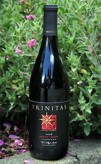Trinitas Cellars 2008 Carneros Pinot Noir 750ml Wine Bottle
