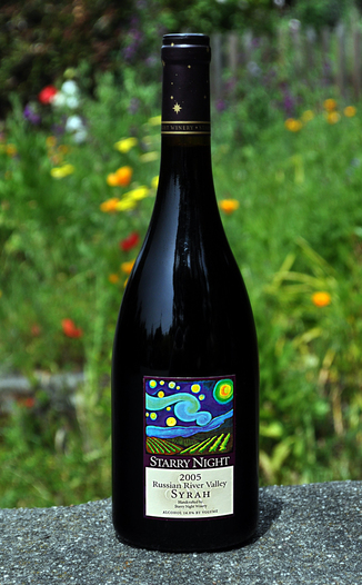 Starry Night Winery 2005 Russian River Valley Syrah 750ml Wine Bottle