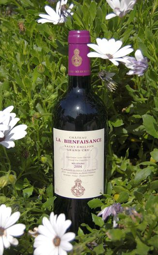 Château La Bienfaisance 2004 Saint-Emilion Grand Cru 750ml Wine Bottle