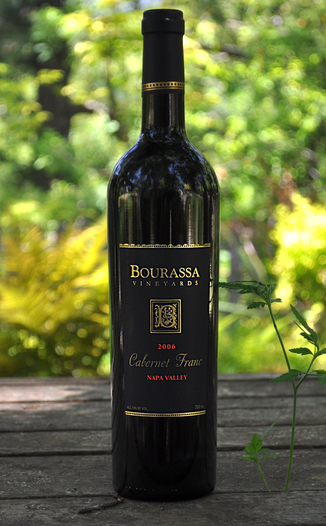 Bourassa Vineyards 2006 Napa Valley Cabernet Franc 750ml Wine Bottle