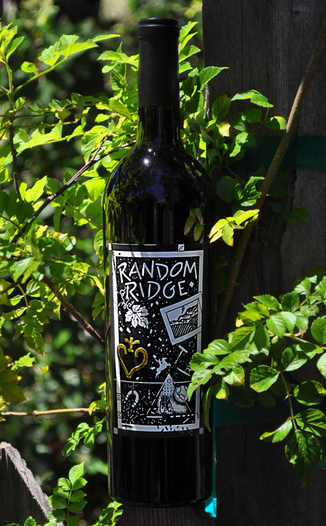 Random Ridge 2004 Cabernet Sauvignon 750ml Wine Bottle