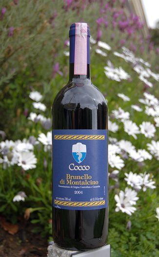 Podere Il Cocco 2004 Brunello di Montalcino D.O.C.G. 750ml Wine Bottle